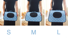 Foldable bags to carry dogs and cats breathly design since 1997