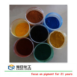 quality pigment supplier sell iron oxide pigment used for coloring cold asphalt