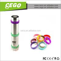 2015 now design! rainbow loom rubber band bracelet 30w box mod band