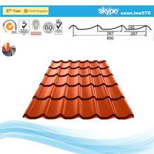 la calidad tradicional de hierro corrugado para el perfil de edificio de uso agrícola
