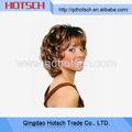 Continuación caliente llena del cordón peluca de cabello humano 24 pulgadas