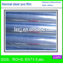 1586 soft transparent pvc film manufacturer with import and export rights