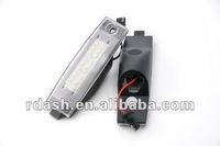 Freeshipping LED License Plate Lamp for Toyota Hiace Highlander RAV4 RX300 Scion xB