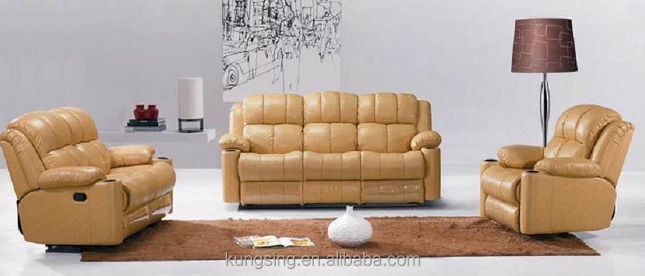 Yellow Leather Rocker Recliner Living Room Sofa Sets Buy Rocker Recliner Living Room Sofa Sets