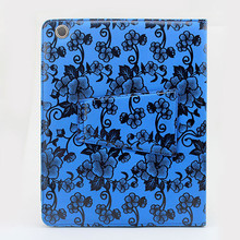 colorful sublimation folio leather case for ipad 2