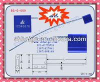 Cable Seal BG-G-009,Metal seal lock