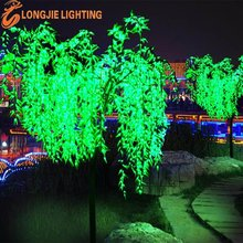 led garden decoration willow tree light