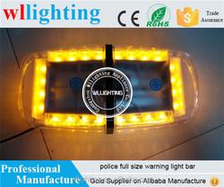Amber 24 LED Mini Light Bar Strobe LED flashing lightbar /used Emergency Warning Beacon