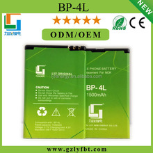 High quality cheap price Battery BP 4L E6 battery for Nokia