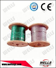 Wells factory supply plastic coated 7x7 cable wire
