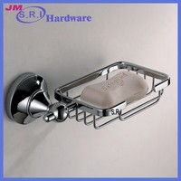 The latest design ceramic corner shower soap dish for shower rail