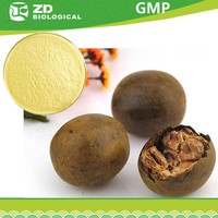 Low calory natural sweetener monk fruit extract powder
