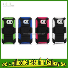 Armor Phone Case PC+Silicon With Kickstand Cover For Samsung Galaxy S6