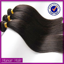 High quality golden supplier no shedding remy hair