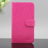 Fast delivery!! wallet flip leather case cover for nokia lumia 720