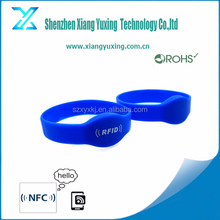 Silicon RFID 13.56mhz wristband event