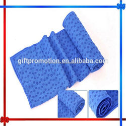 CX78 yoga towel with silicons dots