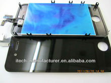 2012 Hot-Sale Item Mobile Phone Lcd Display For iPhone 4 Black CDMA