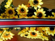 2015 Colorful candy stripe webbing
