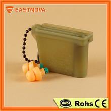 Eastnova anti dust ear cap plug, adjustable ear plug, acoustic filters earplugs