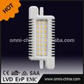 Nuevo producto 118*48mm productos de alta calidad led r7s 9w