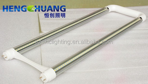 U-Bend G13 20W LED Tube Light T8FB32 T12FB40 Fluorescent Replacement 6500K CLEAR