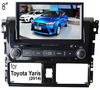 (for Toyota Yaris 2014) 2 din 8 inch car dvd player with GPS