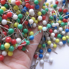 Colored 4mm x 17mm Fixing Ball Head Push Pins