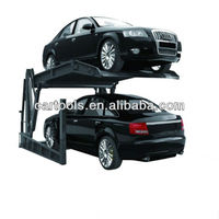 Cheap double parking car elevator parking system