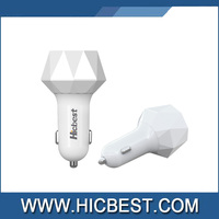 OEM accepted 5V 4.8A triple usb car charger, emergency car battery charger for mobile phone