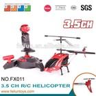 Tamanho médio 2.4g 3.5 canal helicóptero do rc com giroscópio usb cabo e diodo emissor de luz para a venda