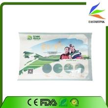 Plastic Heat Sealing Food Meat Packaging Bag With Window
