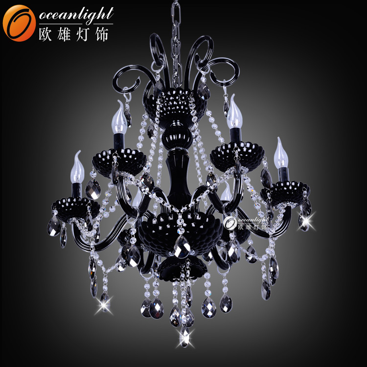 antique lustre en cristal noir bougies chandeliers omg88617 6 en plastique lustre id de produit. Black Bedroom Furniture Sets. Home Design Ideas