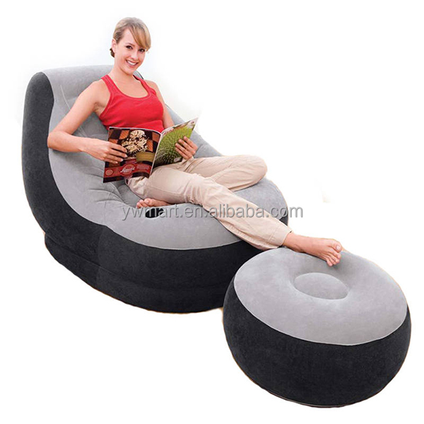 Simple et la mode gonflable canap et une chaise canap for Chaise gonflable