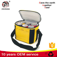 Factory made Promotional customized solar beer cooler bag for wine and food
