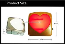 2015 hot selling new type use battery wireless LED car logo door light courtesy light,auto parts wireless projection logo light,
