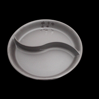100% mealmine A5 top food grade unbreakable plates get melamine with china manufacturer