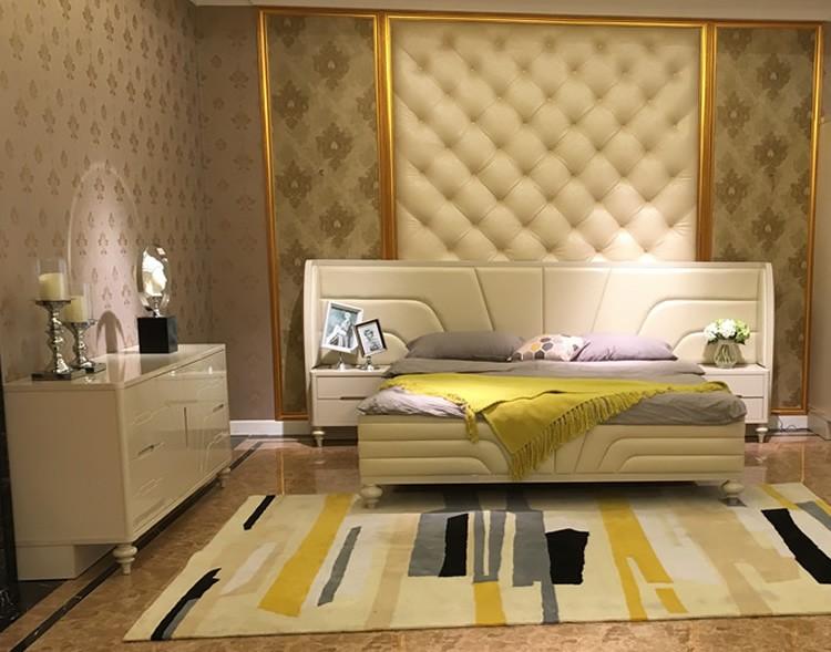 Foshan usine de meubles de luxe mobilier de chambre lit king size ...
