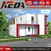 Guangzhou Prefabricated house kit prefabricated steel frame house/villa