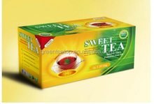 sweet tea bag /Threeleaves best herbal tea for weight loss diet sweet tea chinese diet teabag