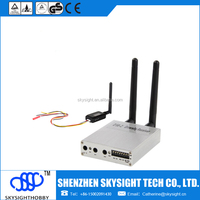 500mw 32ch fpv transmitter sky-N500 with D58-2 diversity receiver mini wireless transmitter and receiver