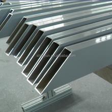 aluminum structure building hollow section price per kg from Jiayun Aluminium