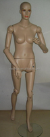 museum display movable female mannequin