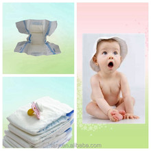 Baby product cloth-like Film Baby Diaper with Janpanese SAP