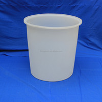 HOT! 300l white plastic fish farming tanks pickle barrels for sale