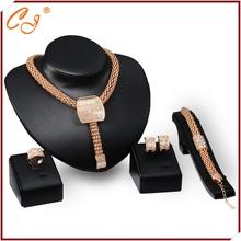 yiwu gioielli cute un pezzo dichiarazione 18k dropshipping gioielli set 4 pezzi