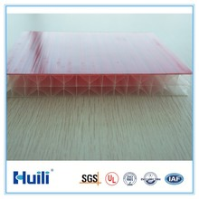 25mm Thick Multi Wall Polycarbonate Sheets X-structure UV Coating Heat & Hail Proof 15 Year Warranty PC Roof Panel
