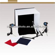 4 Colour Mini Portable Photo Studio (Cube/Tent/Lights) Lighting Kit & Bag