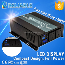 best solar panel inverter 1000w,pure sine wave inverter 1000w,1000w mini inverter