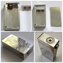 Unique design cherry box mod clone with Brass cherry bomber fully mechanical box mod, cherry bomber box mechanical mod clone
